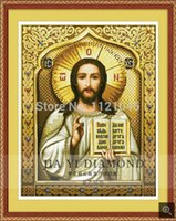 bible retail - DIY diamond painting Retail CM Dsquare resin diamond crossstitch full embroidery Jesus Bible