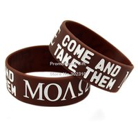 benefit lot - Shipping Molon Labe Come And Take Them Silicone Wristband Perfect To Use In Any Benefits Gift