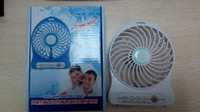 Wholesale Attractive Portable Mini Battery Operated Desk Cool Cooler Fan with Rechargeable USB Hand Fan Super Wind A pc