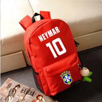 Wholesale Neymar backpack Sport bags Backpack Shoulder bag Football bag sports shoulder bag