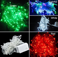 Wholesale Christmas LED String Light colors M LED Xmas Led Christmas Wedding Party Decoration Lights V V