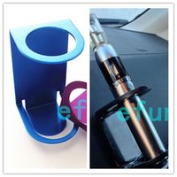 Wholesale Colorful Stand aluminum Car Holder for E Cigarette Mechanical Mod ego stand holder Cigarette display DHL