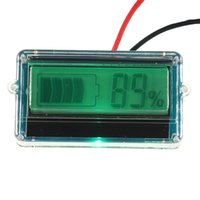 Wholesale Brand New High Standard Waterproof LCD Battery Capacity Tester Indicator V Lead acid Lithium
