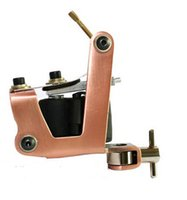 Wholesale Professional Rotary Tattoo Machine Light Bronze Tattoo gun machine Handmade Shader Machine Gun Wrap Coils