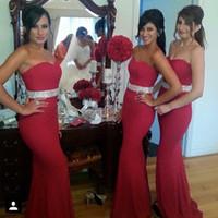 Ruby red bridesmaid dresses – Wedding celebration blog