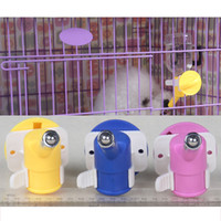Wholesale 2015 new design for the pet dog Pet Fountain Water Dispenser Stainless Head Install Dog Automatic Feeders Dog Cat Water Drinking Bottle