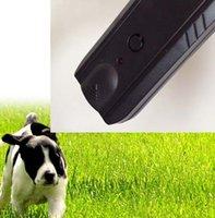 barking dog sensor - Pet Product Electronic Ultrasonic Sensor Drive Dog Repeller Training Anti Barking Stop Bark Torch