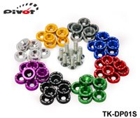 Wholesale JDM Quick Release Fasteners For Car Bumpers Trunk Fender Hatch Lids Kit high quality