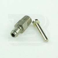 Wholesale New Paintball Airsoft Tank Regulator HPA N2 One Way Foster Stainless Steel Fill Nipple Kit Male NPT