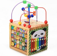 Wholesale 2015 New Children Wooden Learning Education Toys Kids Boys Girls Letters Animals Music Clocks Time Learn Baby Child Toy D3780