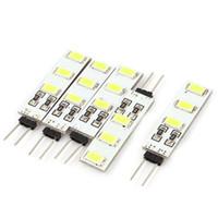 Économie d'énergie pur blanc chaud / G4 blanc 5630 6 SMD mini-LED Light Bulb voiture lampe de lecture