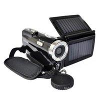 dvc digital camcorder - Portable Digital Video Camera MP Digital Video Camcorder Dual Solar Charging CMOS LCD DVC Photo Camera