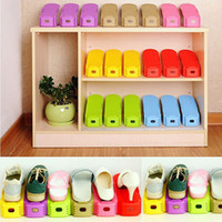 Wholesale New Fashion Shoe Racks Modern Double Three dimensional Cleaning Storage Shoes Rack Living Room Convenient Shoebox Colur