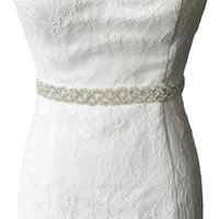 Wholesale S216 Handmade Sash Rhinestone Beaded Wedding Belt Exquisite Jewelry Color Ribbon Designer Belts Cheap