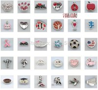 Wholesale New arrive many styles fashion floating locket charms alloy floating charm For Living Floating Locket Accessories BE348