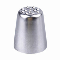 Wholesale 10PCS Stainless Steel Icing Piping Nozzles Pastry Tips Set For Cake Decorating Sugarcraft Tool ZYU1