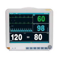 Wholesale 15 Multi parameter Patient Monitor SG8000D SpO2 RESP NIBP PR HR ECG TEMP