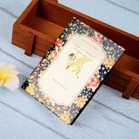 Wholesale High Quality Mini Creative Living Kit Hollow Metal Bookmark Greeting Cards Gold