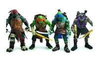Wholesale TMNT Teenage Mutant Ninja Turtles PVC Action Figure Collection Model Toys Classic Toys Christmas Gift set Dropshipping