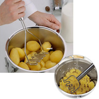 potato - Kitchen Gadgets Potato Mud Pressure Mud Machine Potatoes Masher Pressure Mashed Potatoes Device Fruit Vegetable Tool Accessories