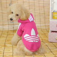 dog coats - 3pcs Pet Dog Hooded Clothes With Button Puppy Cotton Coat Doggie Dress Up Apparel PD101