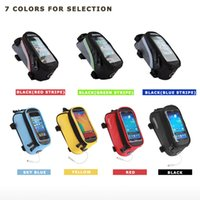 Wholesale ROSWHEEL MOBILE PHONE CASE BAG POUCH CYCLING BIKE BICYCLE FRAME IPHONE HOLDER PANNIER