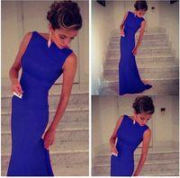 Wholesale Formal dresses vestido de festa longo women dress to party evening elegant Black Elegant Maxi Dress