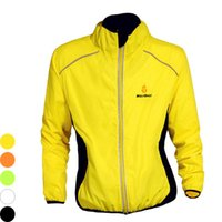 Wholesale WOLFBIKE Waterproof Cycling Jacket Winter Long Sleeve Windproof Bicycle Jersey