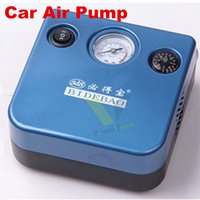 Wholesale Portable V LED Light Car Air Pump Auto Tire Tyre Inflator Air Filler Mini Compressor Pump
