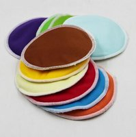 Wholesale 5000pcs CCA2696 Hot Sale Multi color Organic Bamboo Waterproof Reusable Washable Nursing Pad Breast Pad Feeding Pads Absorbent Soft Pads