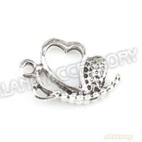 Charms antique sleds - Alloy Sled Antique Antique Silver Plated Charms Pendant Fit Jewelry Making x14x4mm