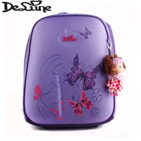 Wholesale Delune Original Girls School Bags Orthopedic Princess Children School Backpack Winx Club Monster High Primary Bookbag Mochila BookBags