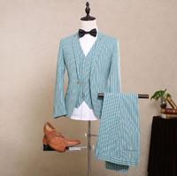 Wholesale 2016 New Arrival Hot Sale Men s Formal Wedding Bridegroom Groomsman Prom Men s Suits Groom Tuxedos Jacket Pants Vest