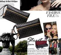 Coin Purses Red Check, Plaid & Tartan Fashion Zipper Pu Leather Coin Purse Women Wallet Daily Storage Change Purse Ladies Handbag phone bag for iphone 6 Plus 5s Free Shipping