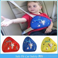 Wholesale Safe Fit Thickening Car Safety Belt Adjust Device Baby Child Safety Belt Protector Seat Belt Positioner Years Safe Seat C34