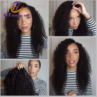 Wholesale 7A Peruvian Kinky Curly remy hair Wig Silky Full lace wig human hair wigs for black women Glueless full lace wig