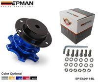Wholesale TANSKY EPMAN mm Blue Steering Wheel Quick Release Hub Adaptor fit Racing Karting Auto Car EP CA0011 BL