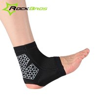 ankle guard baseball - Ankle Pad Protection Elastic Brace Guard Support Bike Cycling Hiking Baseball Football Gym Outdoor Sports Wrap Foot Pad