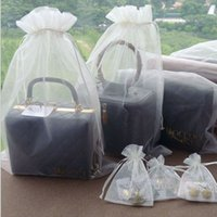 good quality jewelry - Large Organza Drawstring Bags cm x cm quot x quot can print logo good quality cheap Promotion Pouches