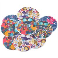 Wholesale 4 crafts and scrapbooking Crafts And Scrapbooking Wooden Buttons Sunglass Head Randomly Mixed