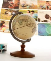 Wholesale Classic Toys Tools World Globe Diameter cm Geography Globe Home Decoration Educational Toys Kids Gift order lt no track