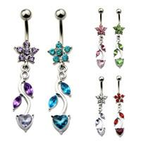Wholesale Jewelry Body Jewelry Navel Bell Button Rings Belly Body Piercing