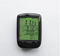 Wholesale 40pcs Waterproof Bicycle Bike Cycle Wired LCD Digital Computer Odometer Speedometer Backlight
