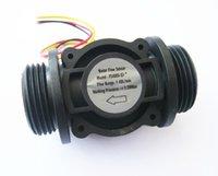 Wholesale 1 quot DN25 Water flow sensor Flow meter Flow counter L min