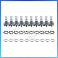 Wholesale 10pcs New mm Rotary Encoder Switch With Keyswitch Use With PIC or ATMEL New
