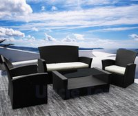 wicker furniture - High quality KD Outdoor furniture sets container rattan sets garden table sets sofa set wicker set outdoor living