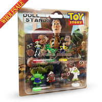 action stories - Novelty Hot Sale SET Toy Story Cartoon Spring dolls Action Figures Stand up dolls Mini Furnishing articles dolls Gifts Stand up dolls