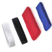 Wholesale 2pcs Useful Sports Head Band Cotton Headband Sweat Band Sport Leisure Sweatband
