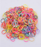 Cheap Loom Bands Glitter Jelly Glow in the Dark Dual Color Multi Color Rubber Bands Looms 600 bands + 24 clips) 500PCS+ FedEx