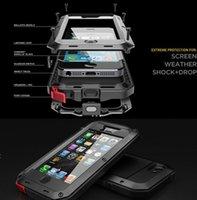 al por mayor gorila iphone corning-Extreme Aluminum Silicone Corning Gorilla Waterproof Shockpoof a prueba de polvo para iphone 6s 6 más 5 5s DHL Free